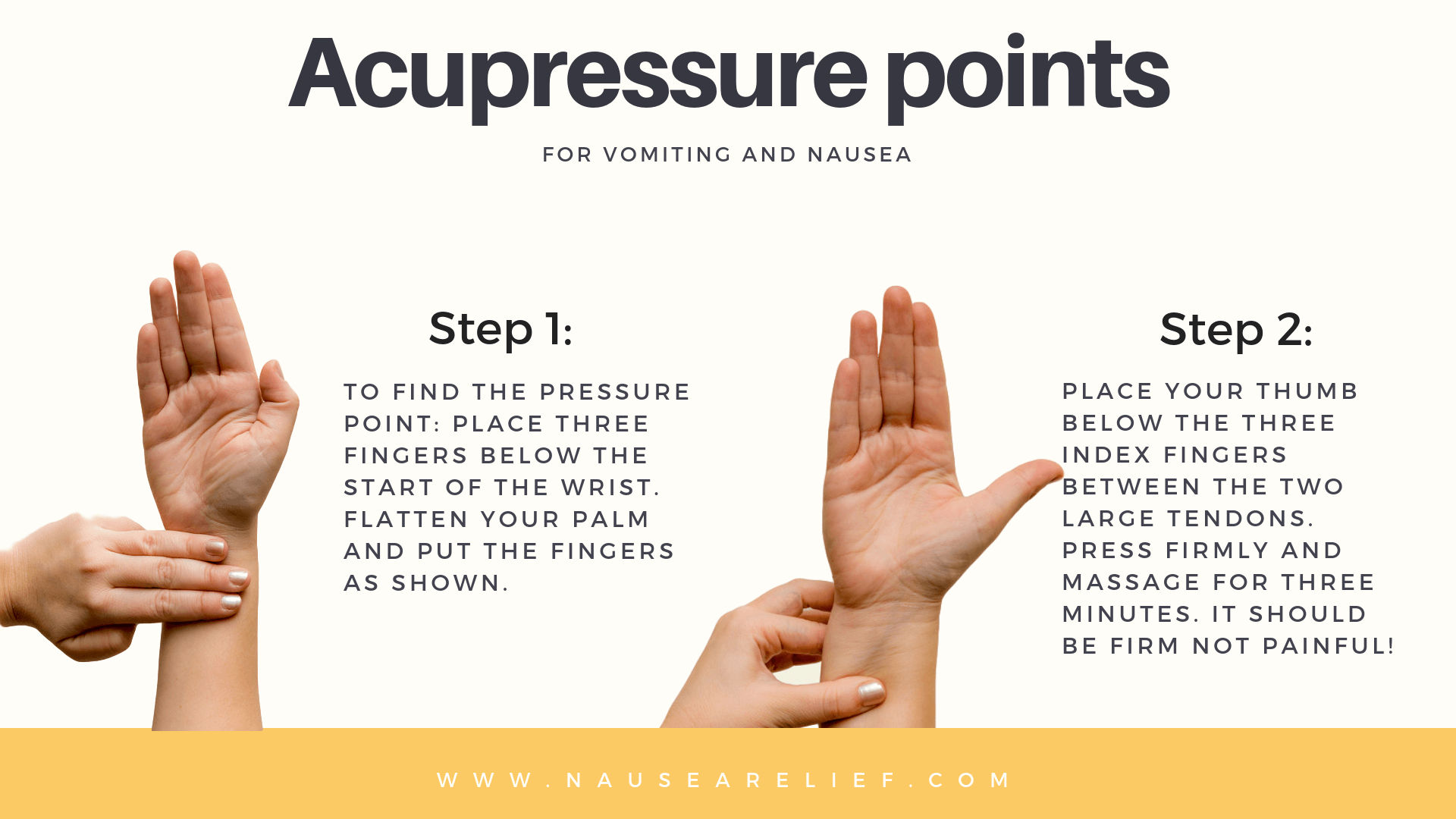 Find Your Acupressure Points - Fight Motion Sickness and ...